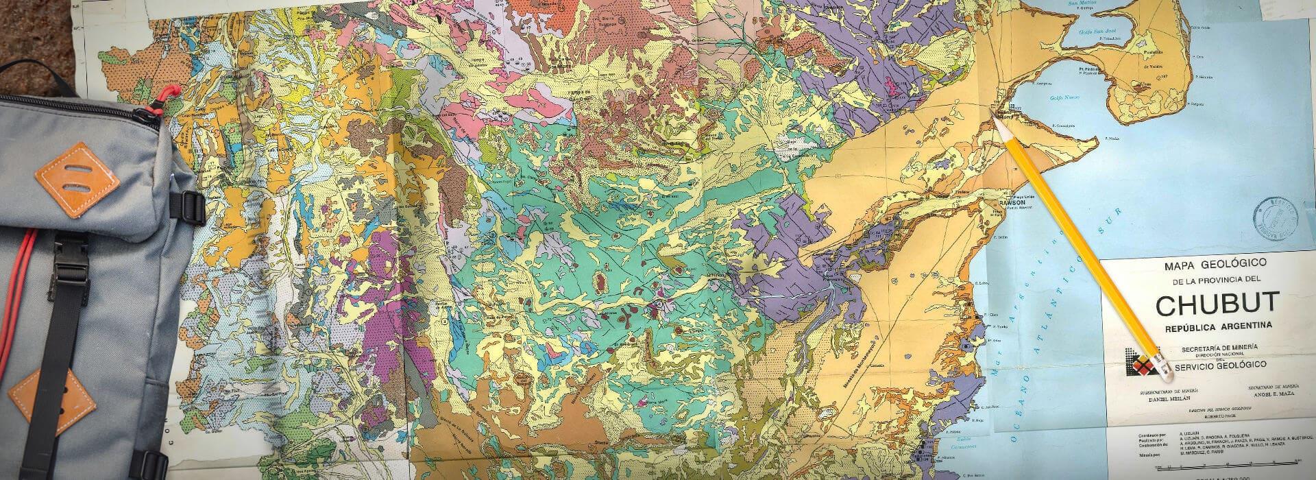 Chubut map