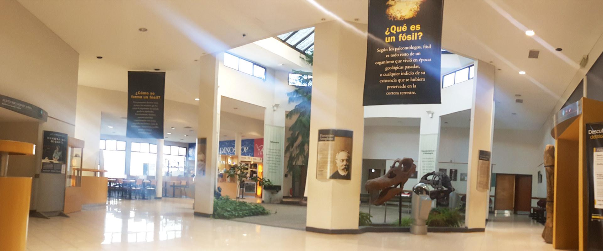 Salón principal del MEF