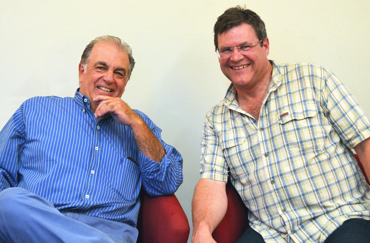 Dr. Rubén Cúneo y Dr. Kirk Johnson