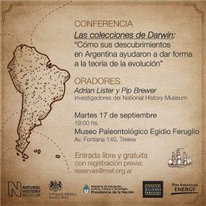Conferencia abierta en el MEF. Septiembre 2019